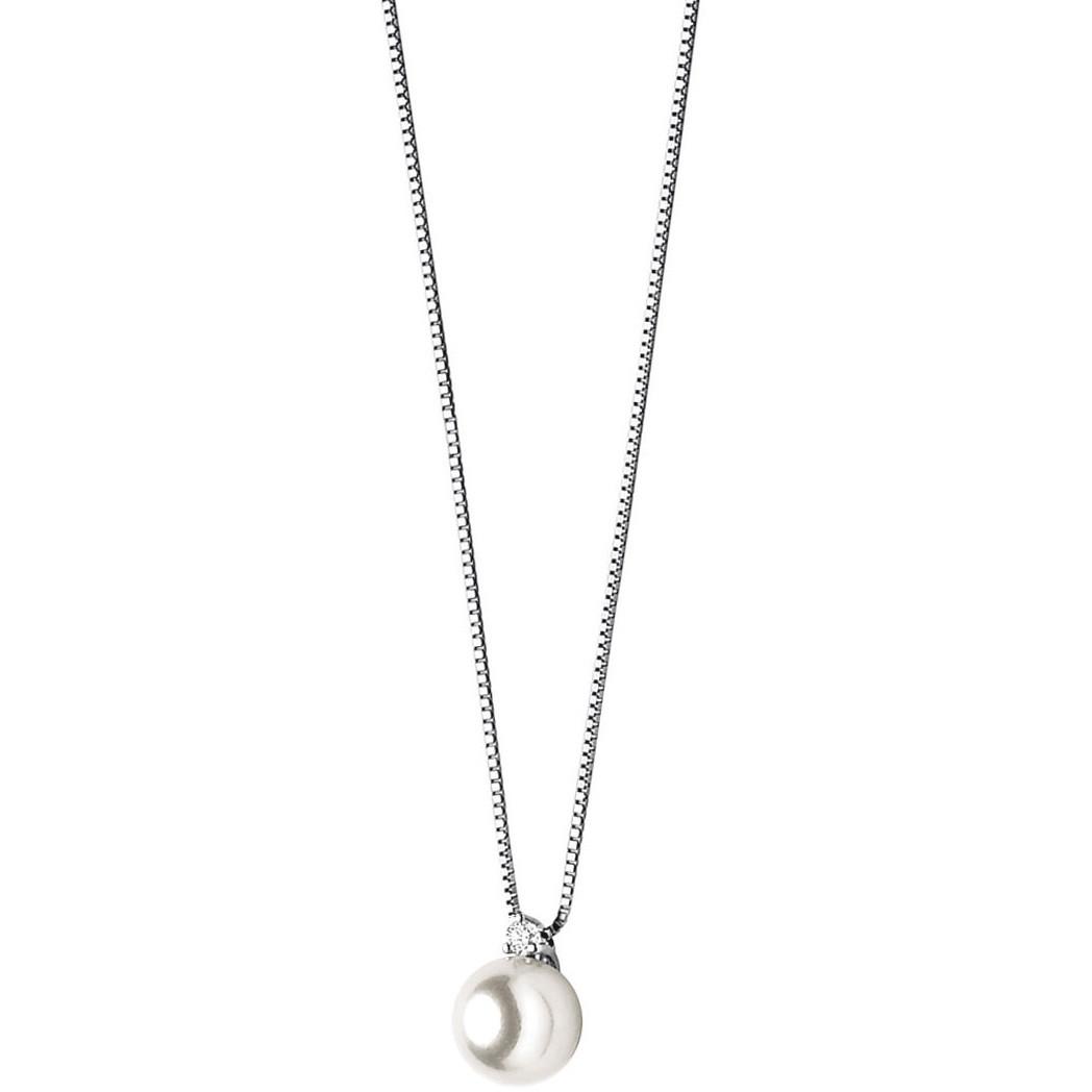 collana donna gioielli Comete Perla GLP 205