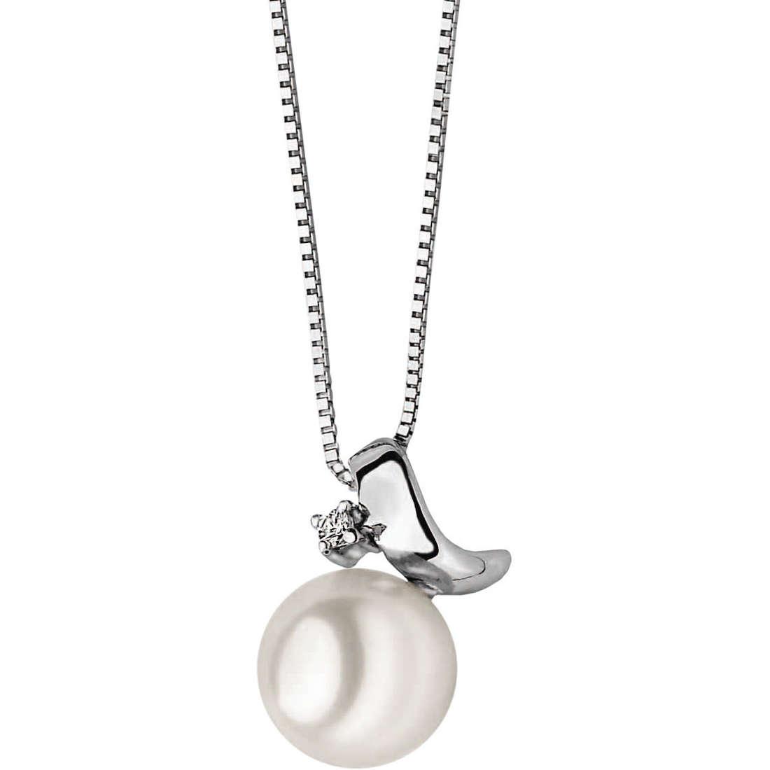 collana donna gioielli Comete Perla GLP 266