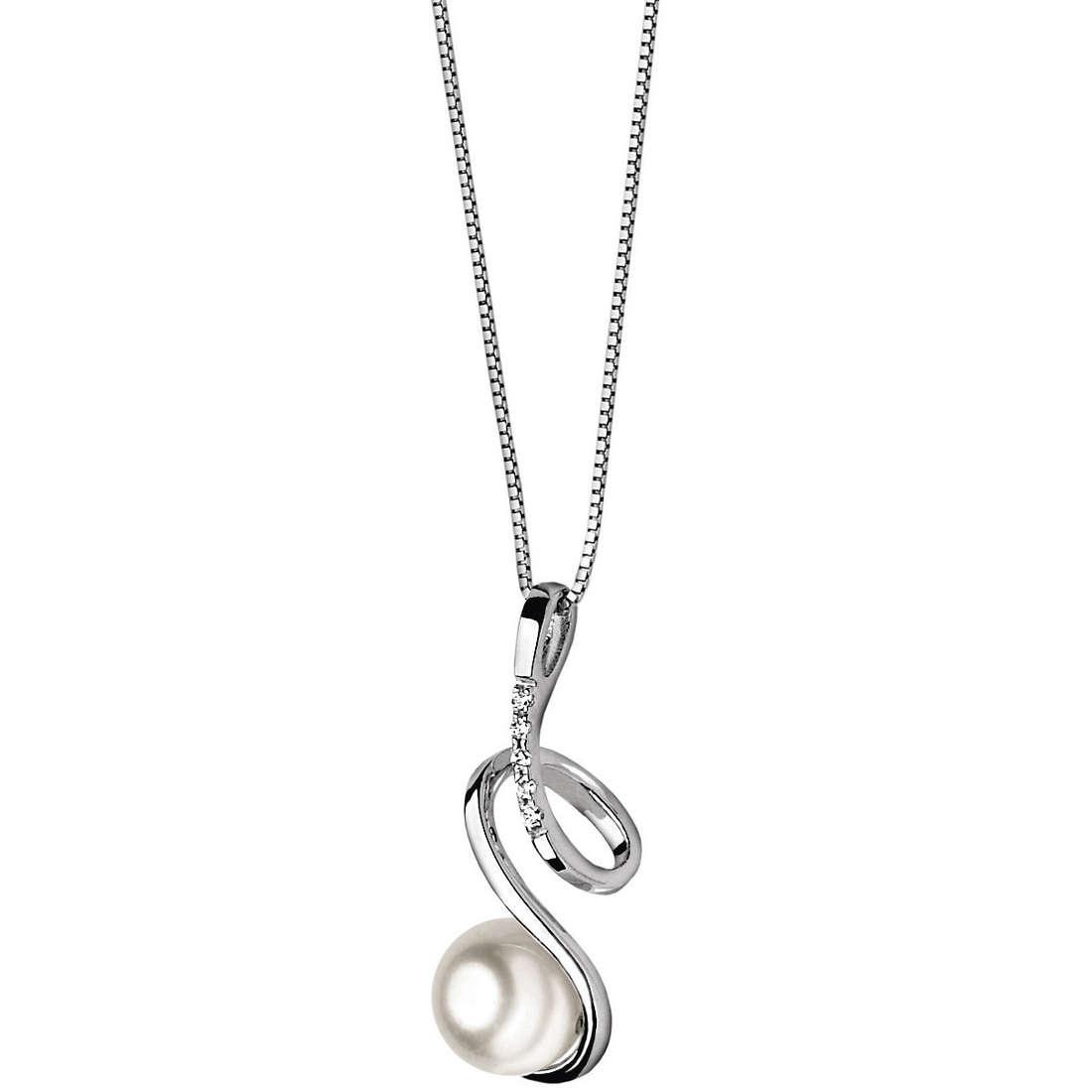 collana donna gioielli Comete Perla GLP 271