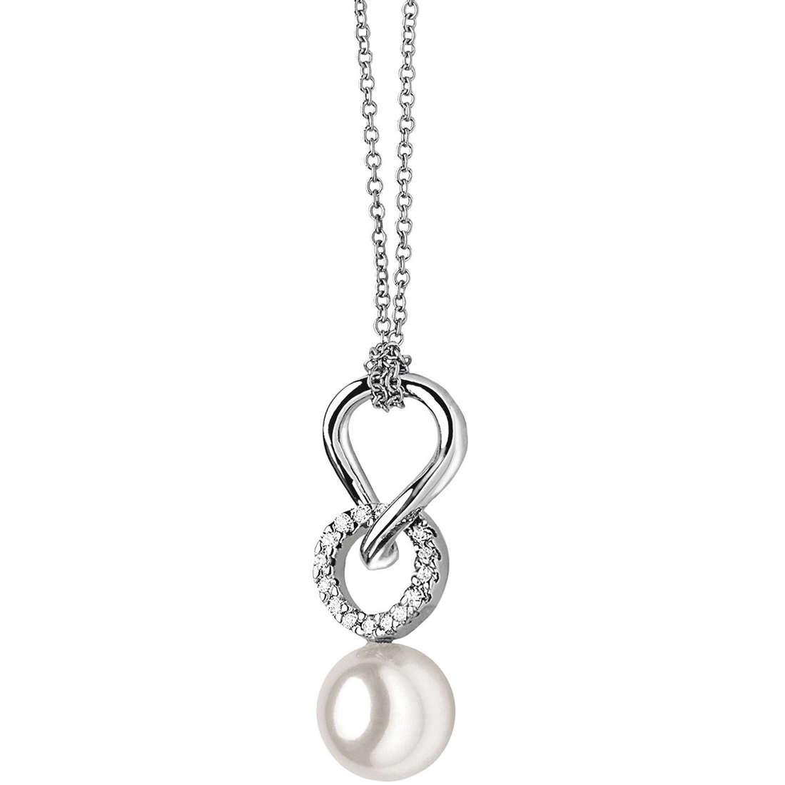 collana donna gioielli Comete Perla GLP 320