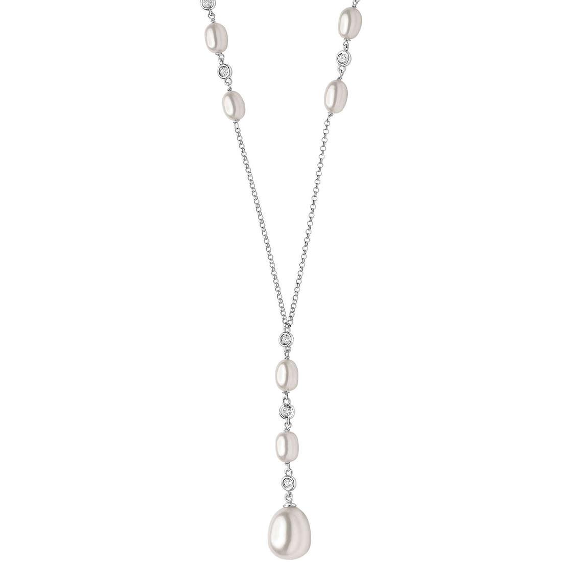 collana donna gioielli Comete Perla GLP 353