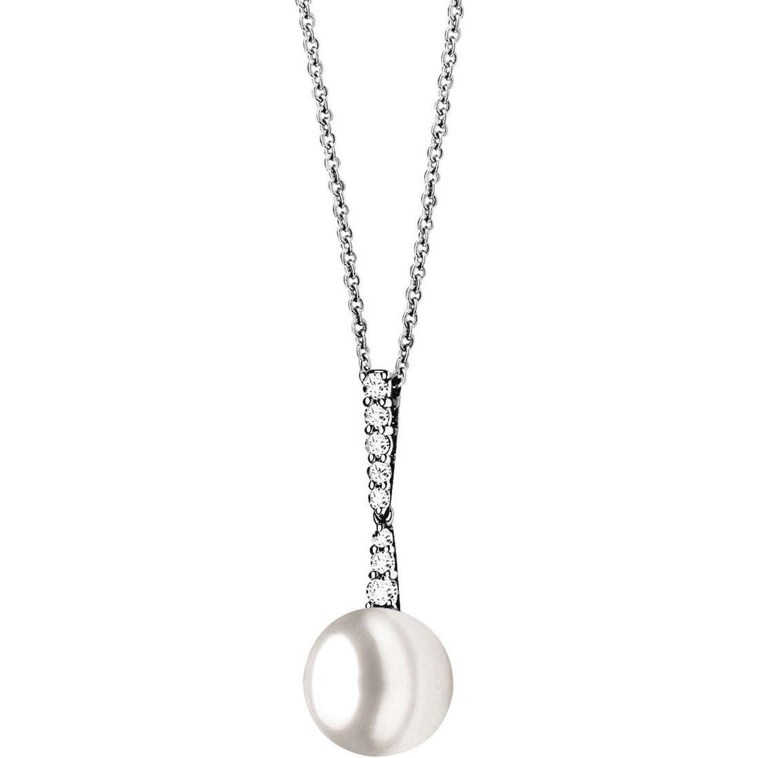 collana donna gioielli Comete Perla GLP 366