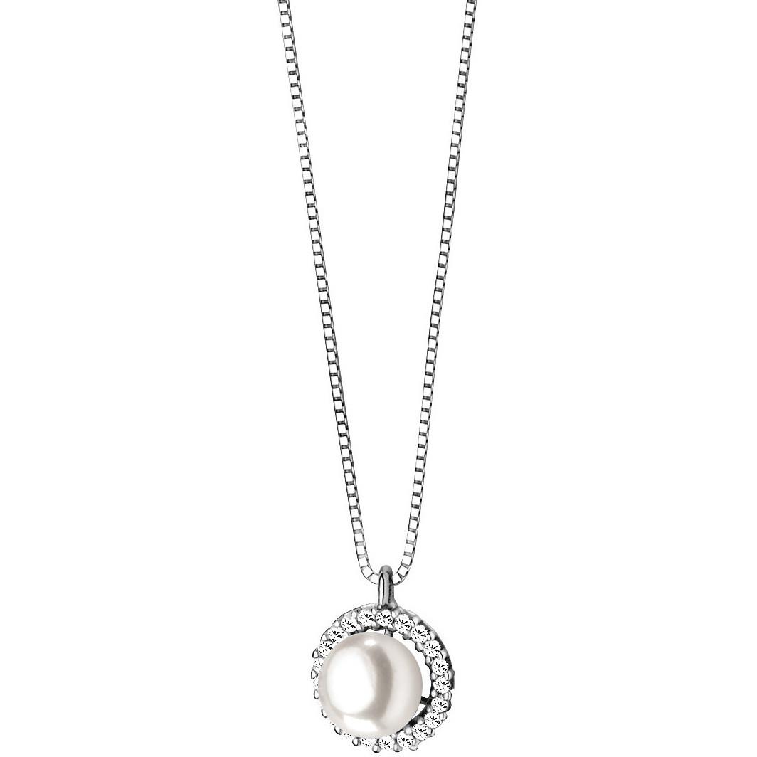 collana donna gioielli Comete Perla GLP 376