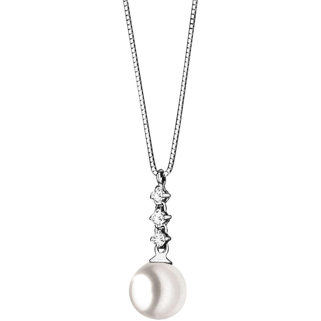 collana donna gioielli Comete Perla GLP 377