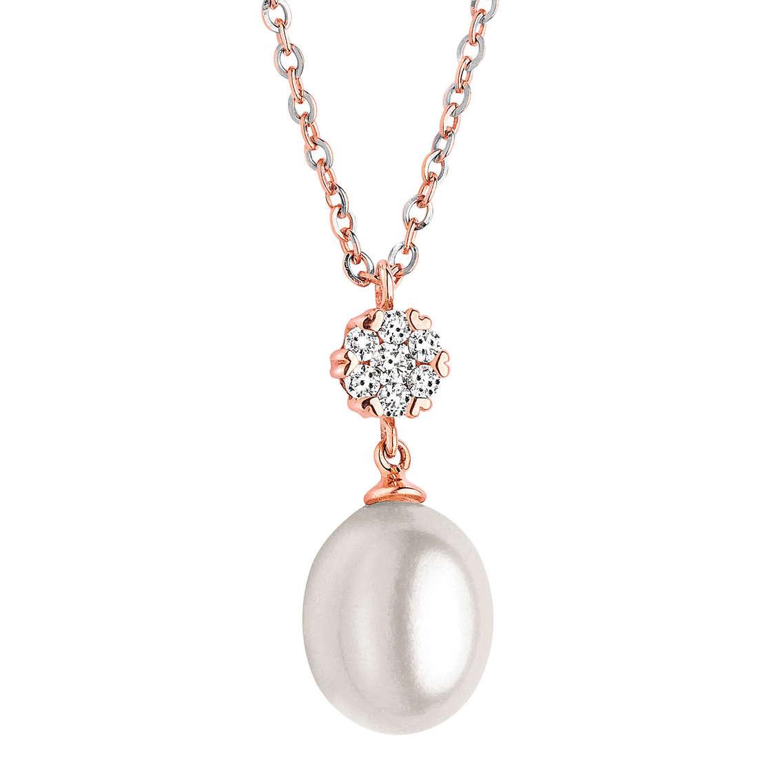 collana donna gioielli Comete Perla GLP 384