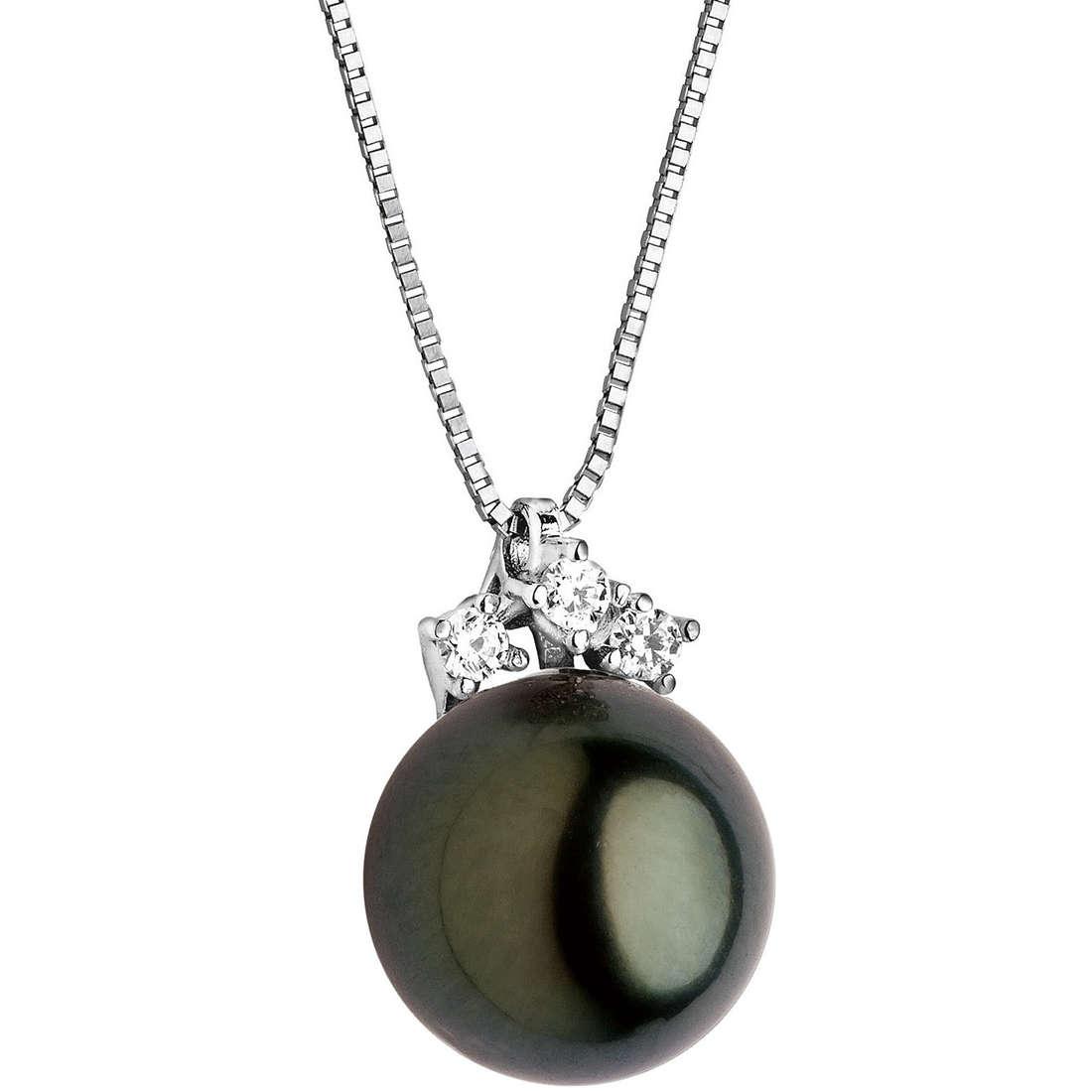 collana donna gioielli Comete Perla GLP 386