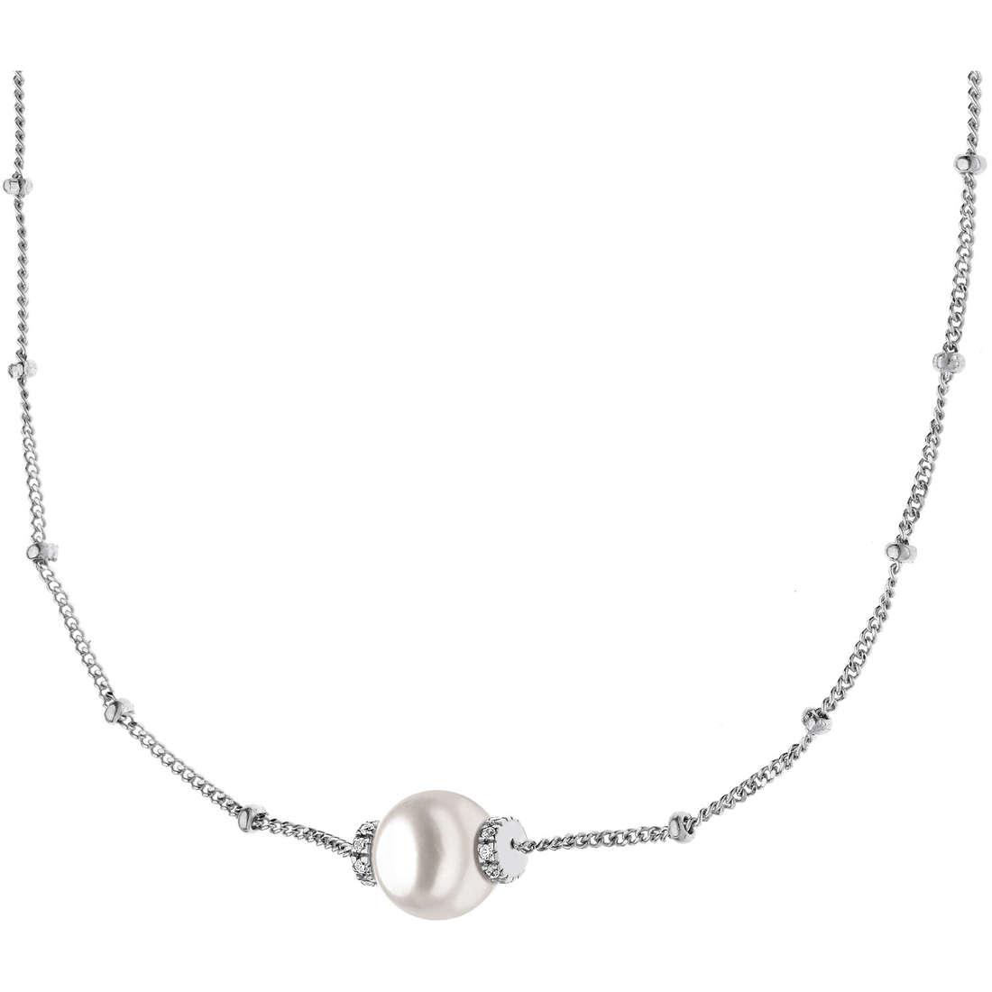 collana donna gioielli Comete Perla GLP 391