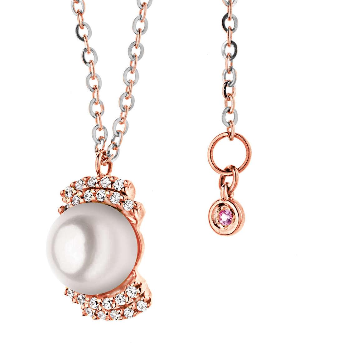 collana donna gioielli Comete Perla GLP 398