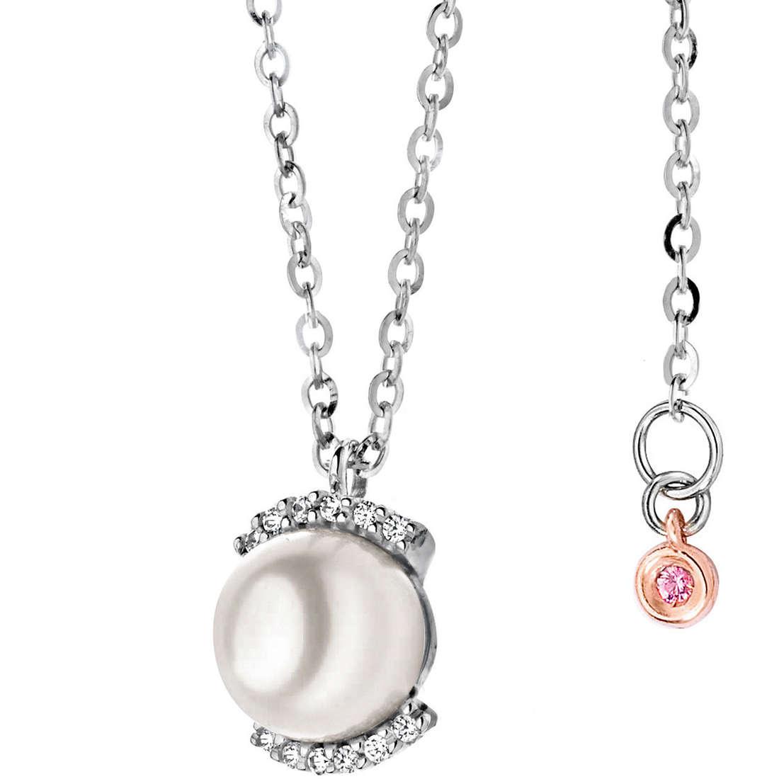 collana donna gioielli Comete Perla GLP 399
