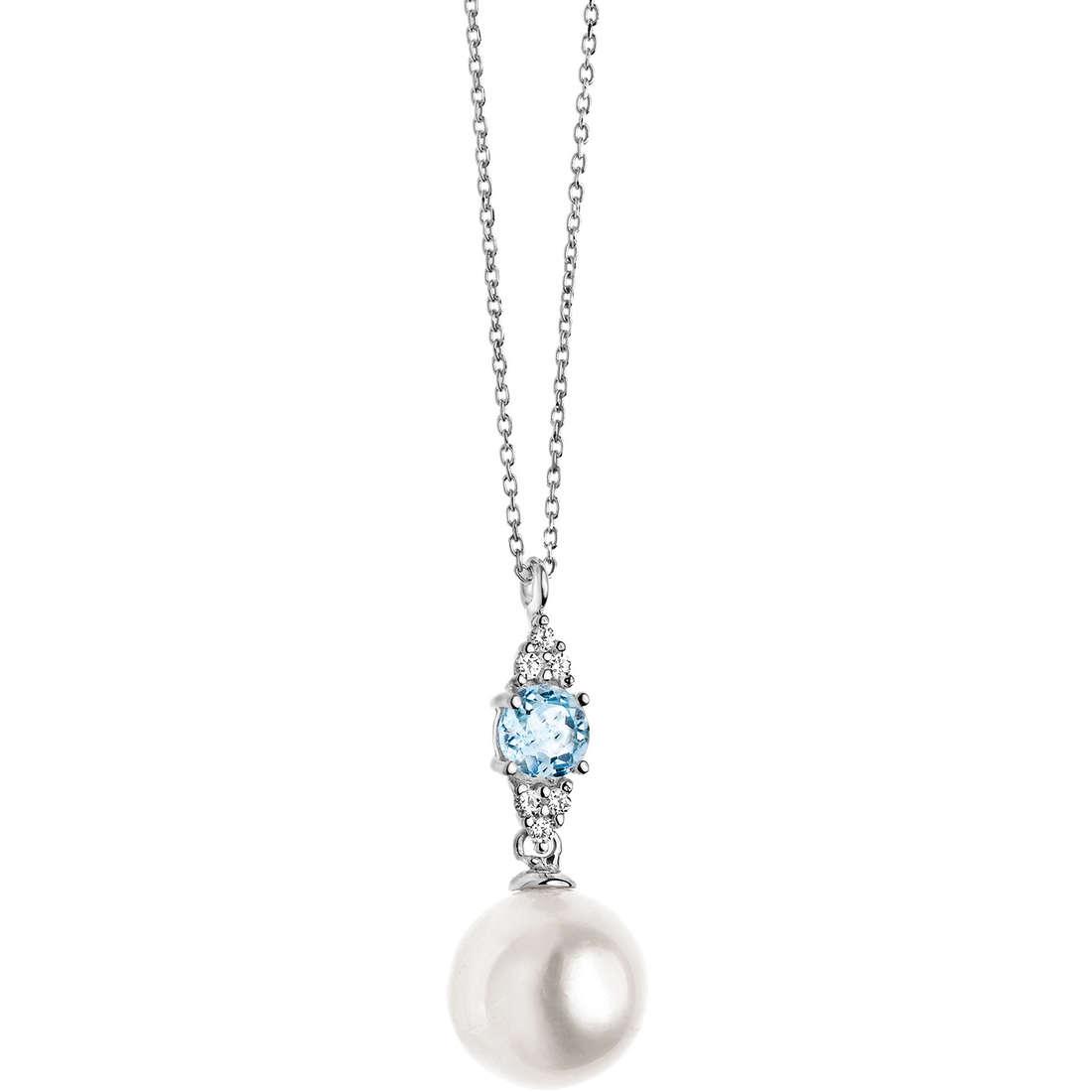 collana donna gioielli Comete Perla GLP 410