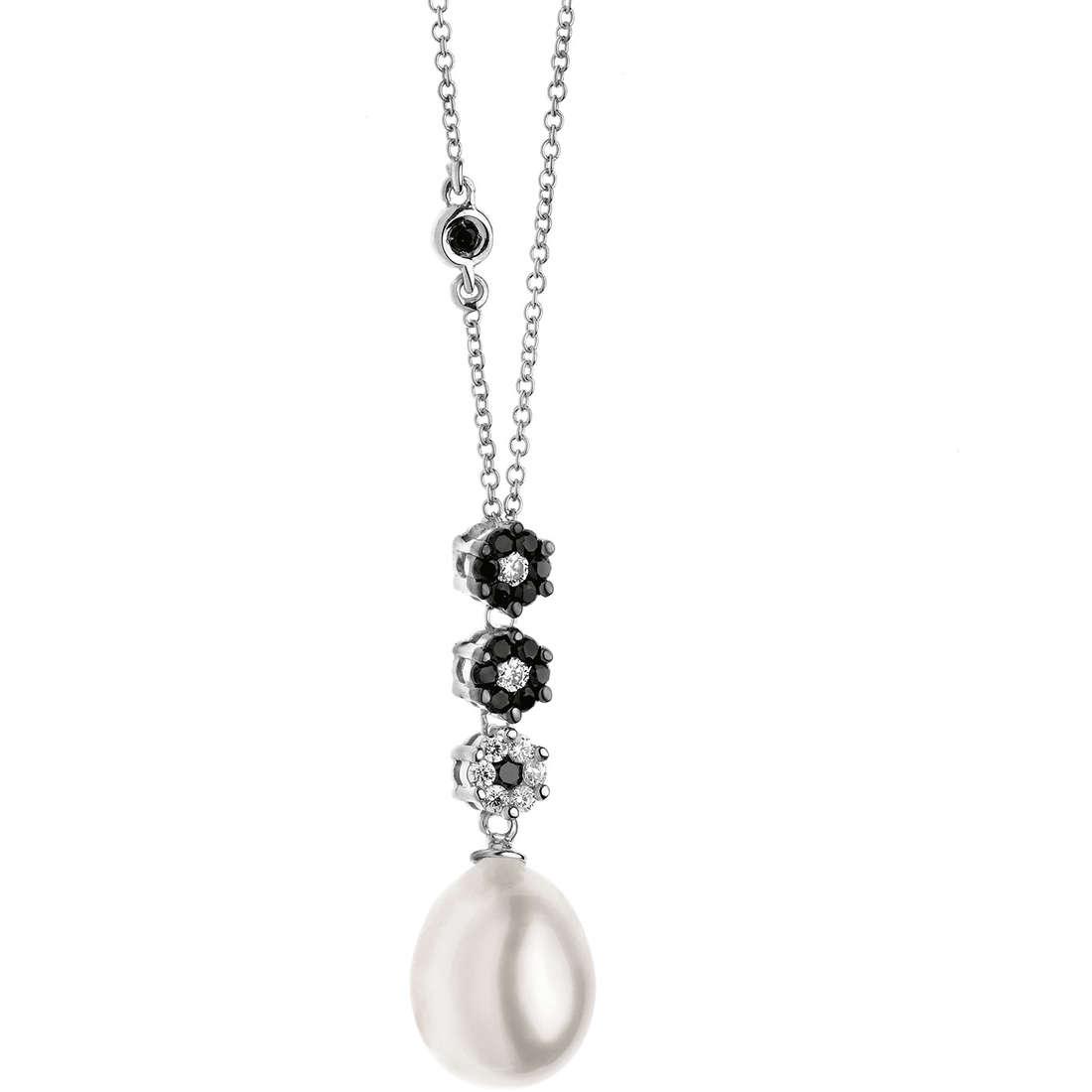 collana donna gioielli Comete Perla GLP 413