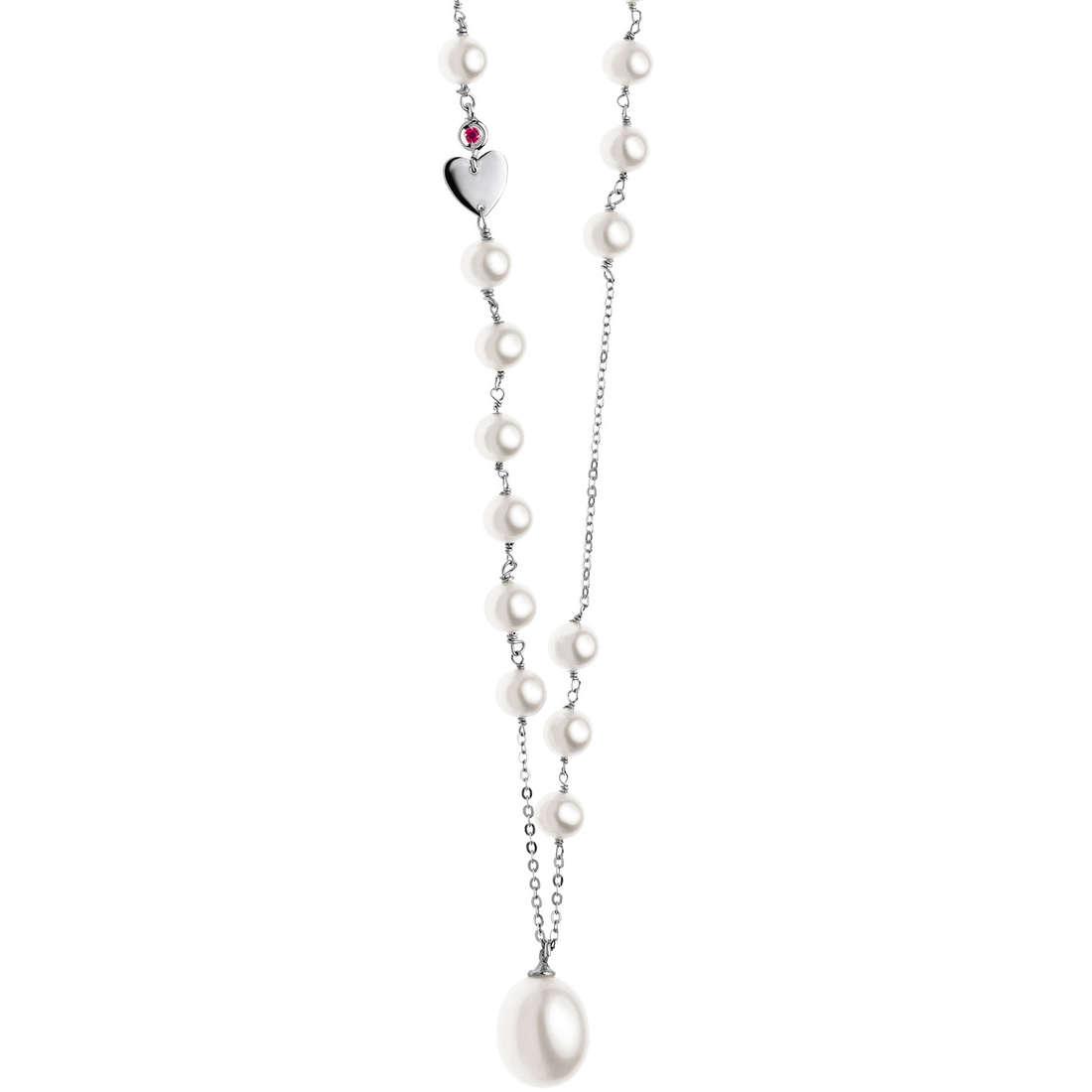 collana donna gioielli Comete Perla GLP 416