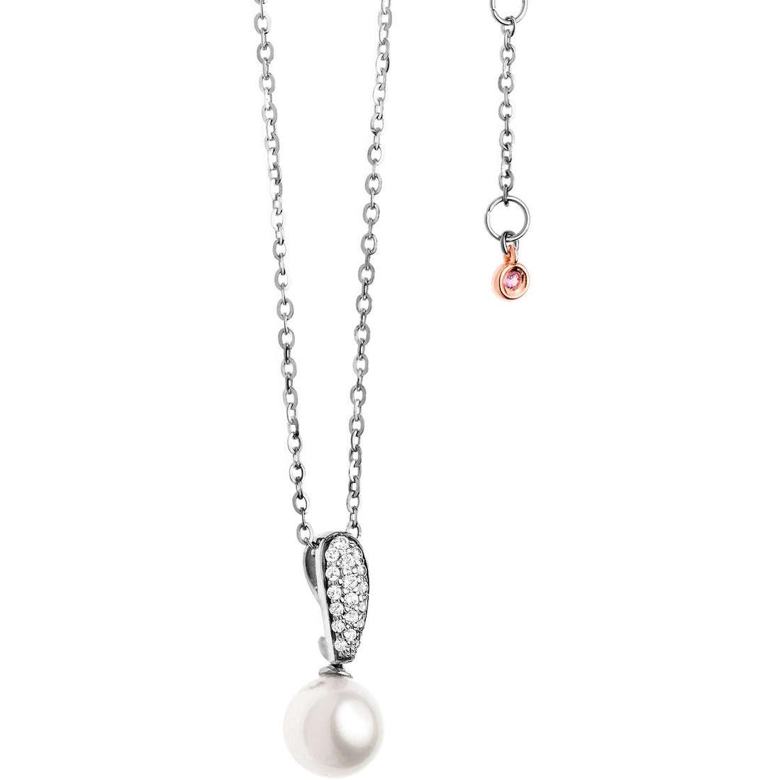 collana donna gioielli Comete Perla GLP 421