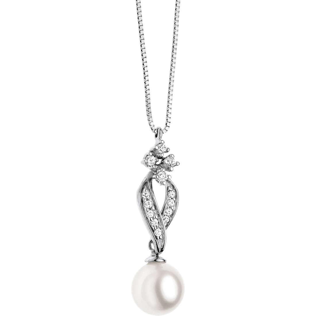 collana donna gioielli Comete Perla GLP 422