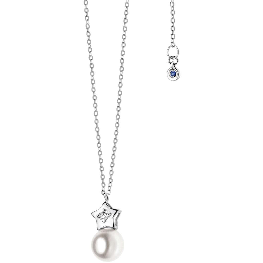 collana donna gioielli Comete Perla GLP 425