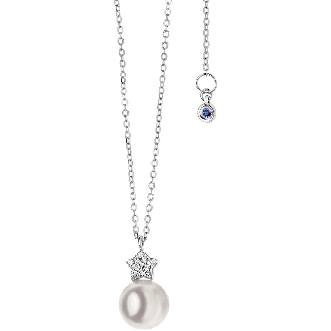 collana donna gioielli Comete Perla GLP 426
