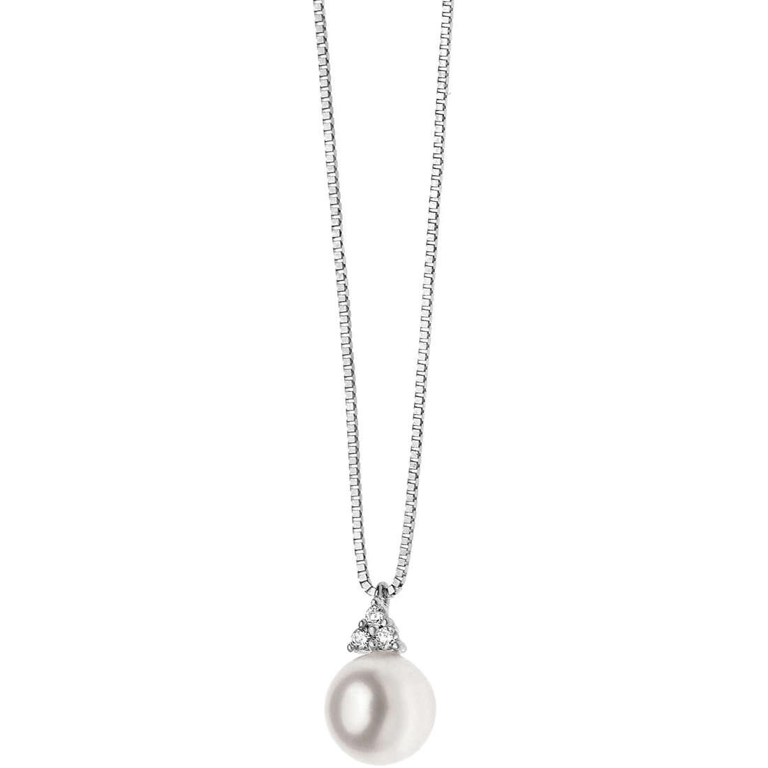 collana donna gioielli Comete Perla GLP 427