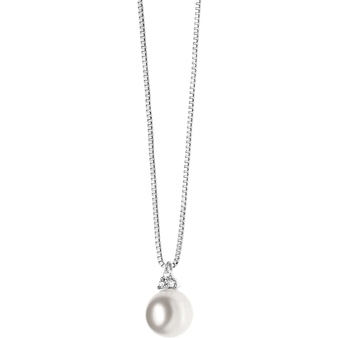 collana donna gioielli Comete Perla GLP 428