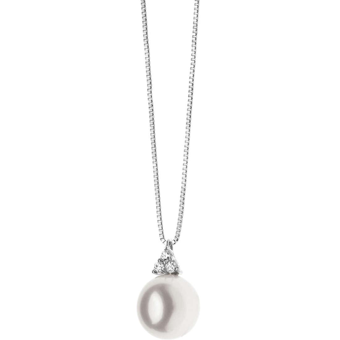 collana donna gioielli Comete Perla GLP 429