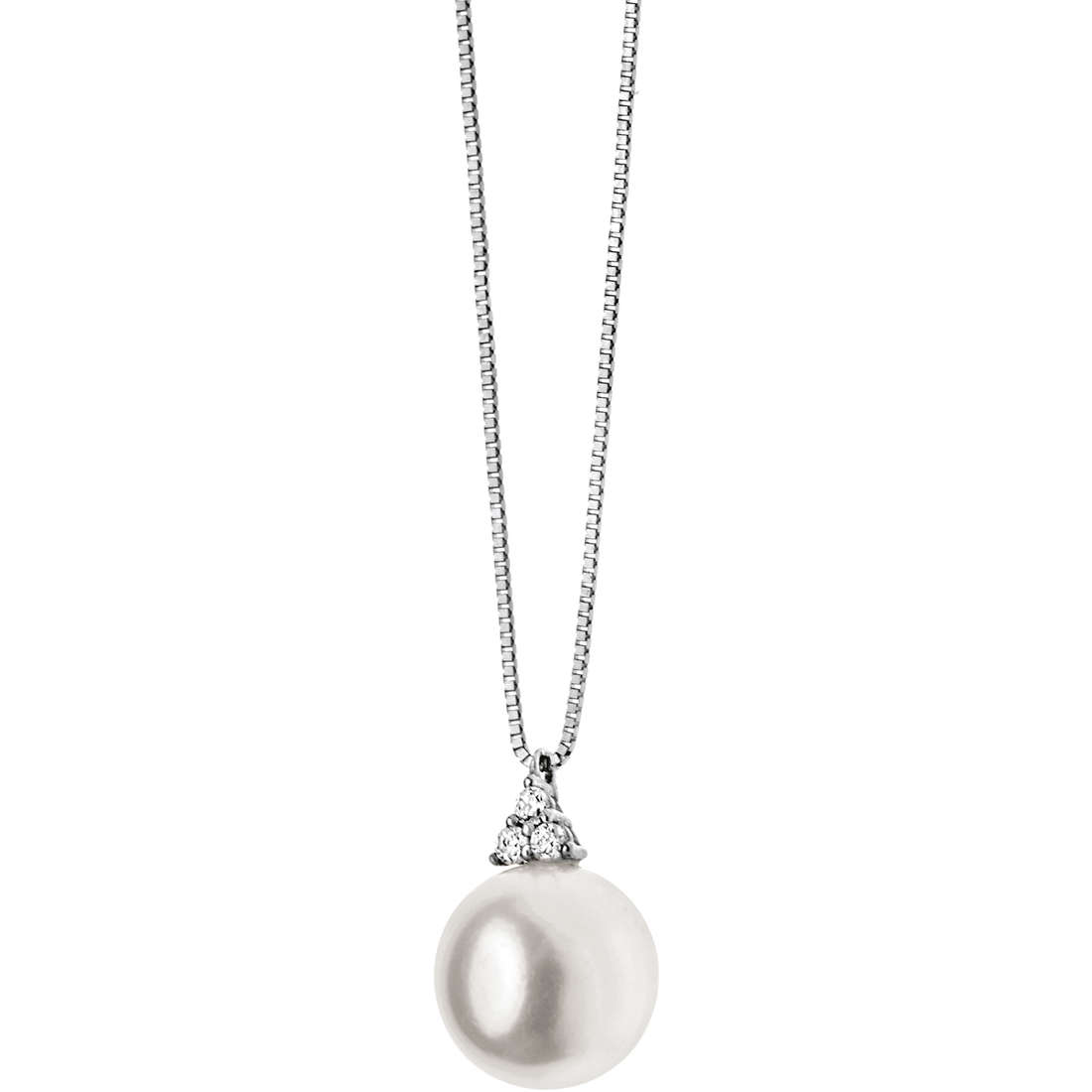 collana donna gioielli Comete Perla GLP 430
