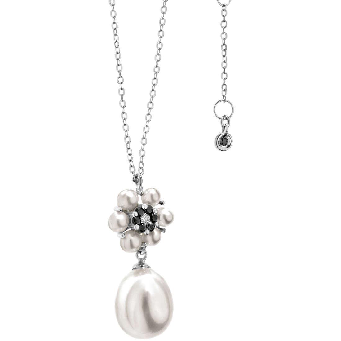 collana donna gioielli Comete Perla GLP 436