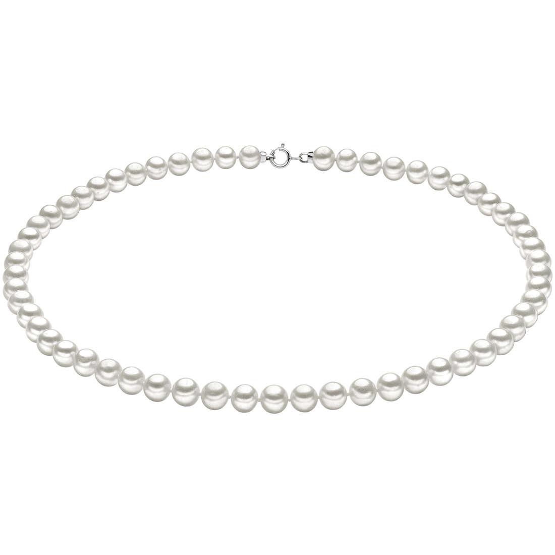 collana donna gioielli Comete Perle Easy Basic FWQ 106 AM50
