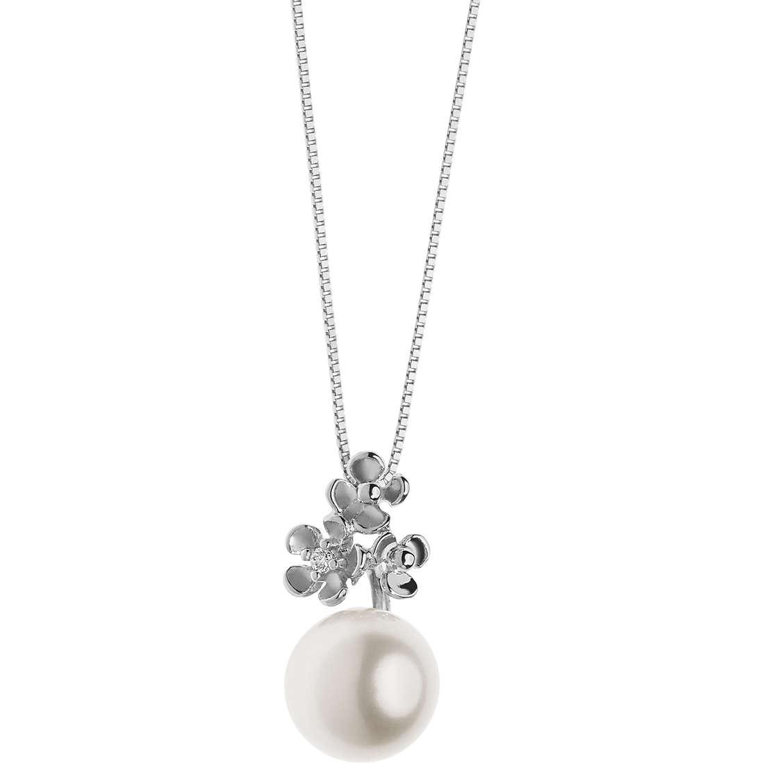 collana donna gioielli Comete Perle GLP 480