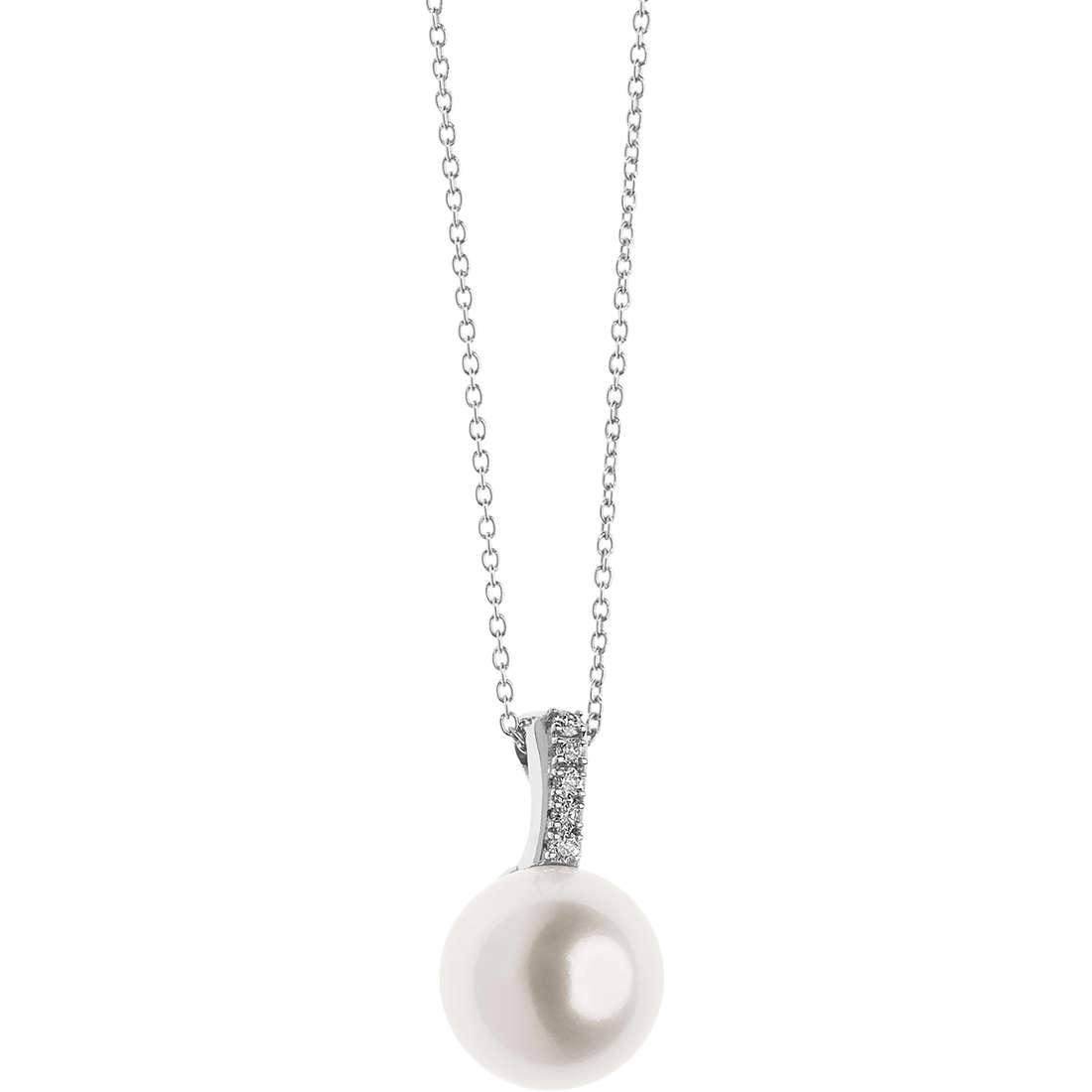 collana donna gioielli Comete Perle GLP 482