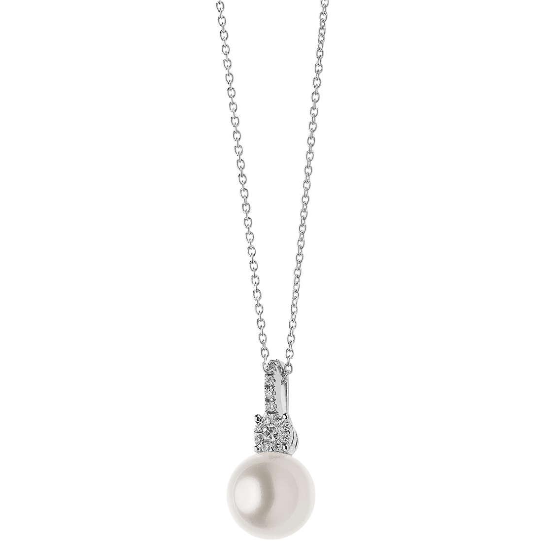 collana donna gioielli Comete Perle GLP 483