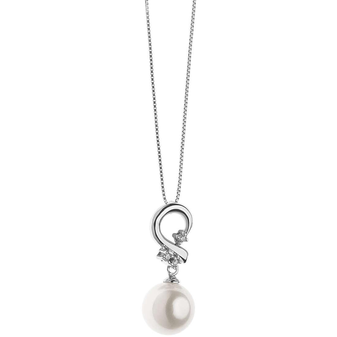 collana donna gioielli Comete Perle GLP 486