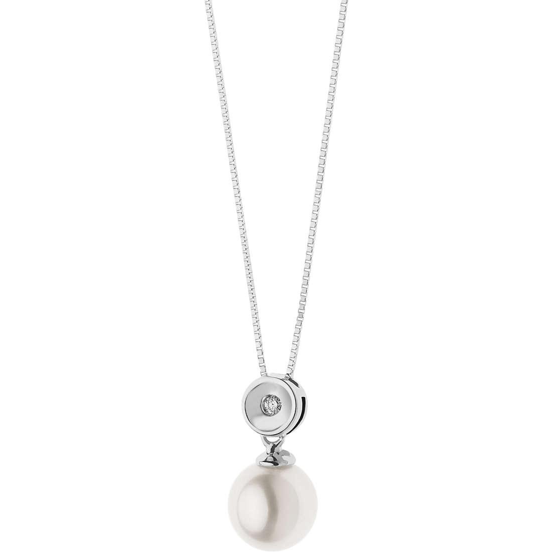 collana donna gioielli Comete Perle GLP 490