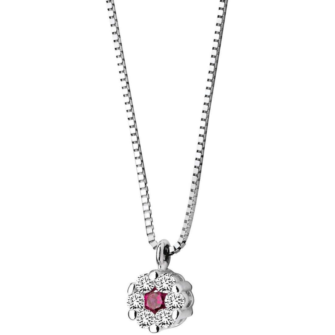 collana donna gioielli Comete Pietre preziose colorate GLB 625