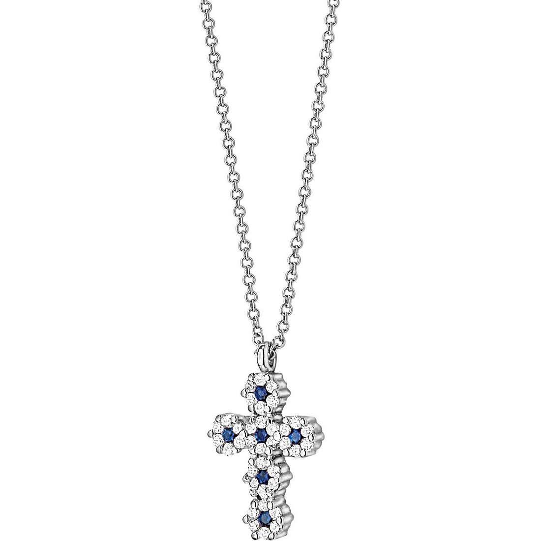 collana donna gioielli Comete Pietre preziose colorate GLB 629