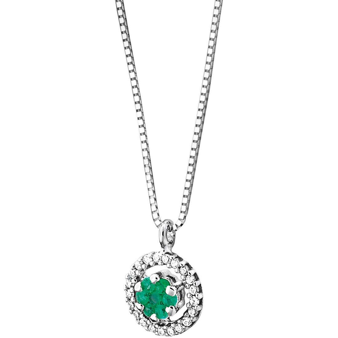 collana donna gioielli Comete Pietre preziose colorate GLB 739