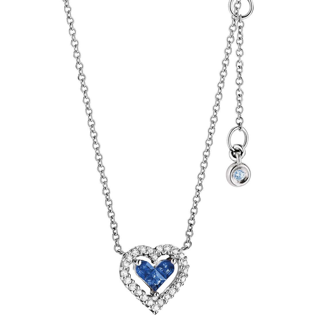 collana donna gioielli Comete Pietre preziose colorate GLB 750ZAF
