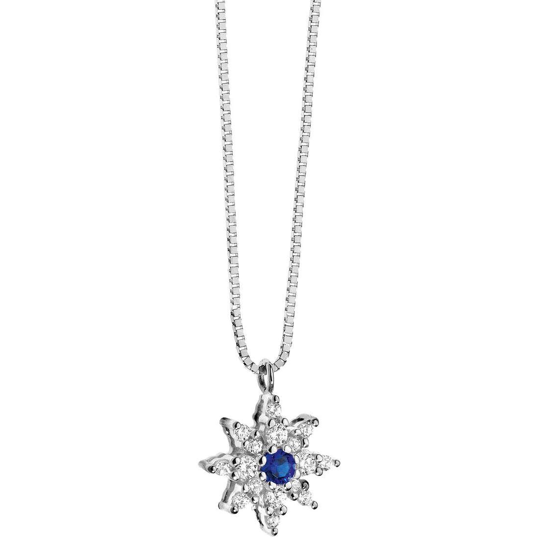 collana donna gioielli Comete Pietre preziose colorate GLB 779