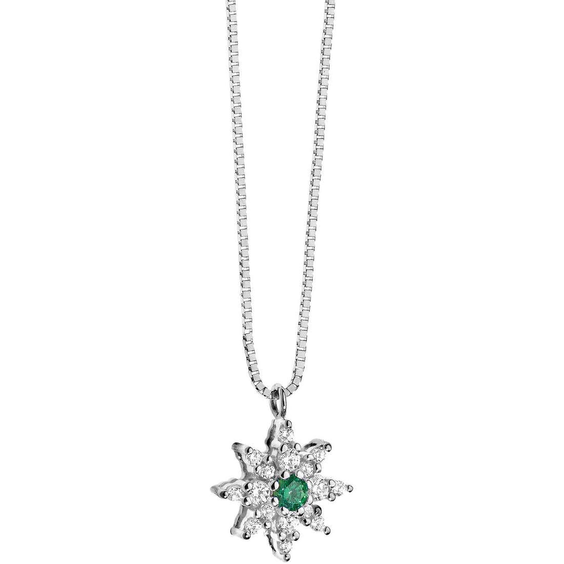 collana donna gioielli Comete Pietre preziose colorate GLB 780
