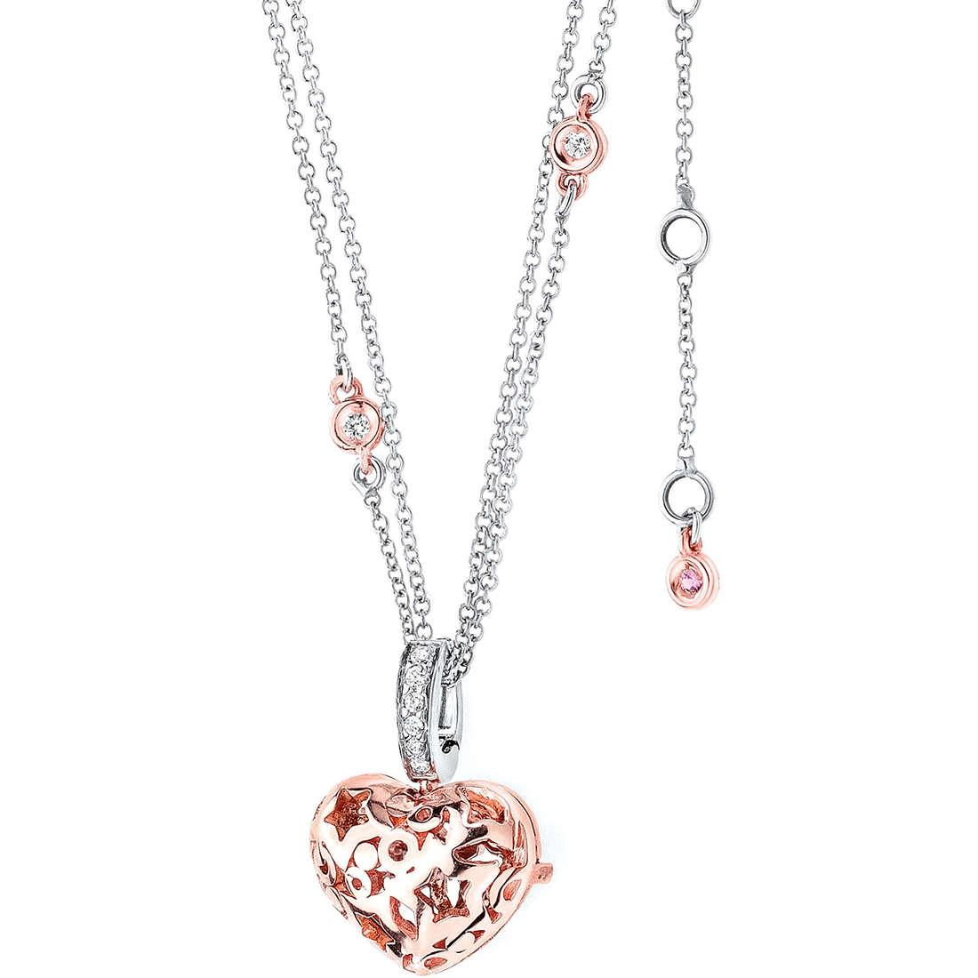 collana donna gioielli Comete Pietre preziose colorate GLB 785