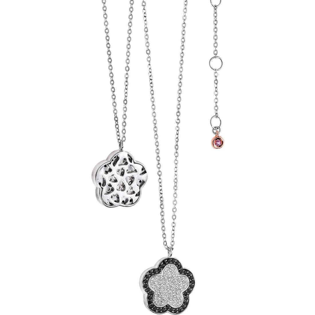collana donna gioielli Comete Pietre preziose colorate GLB 803