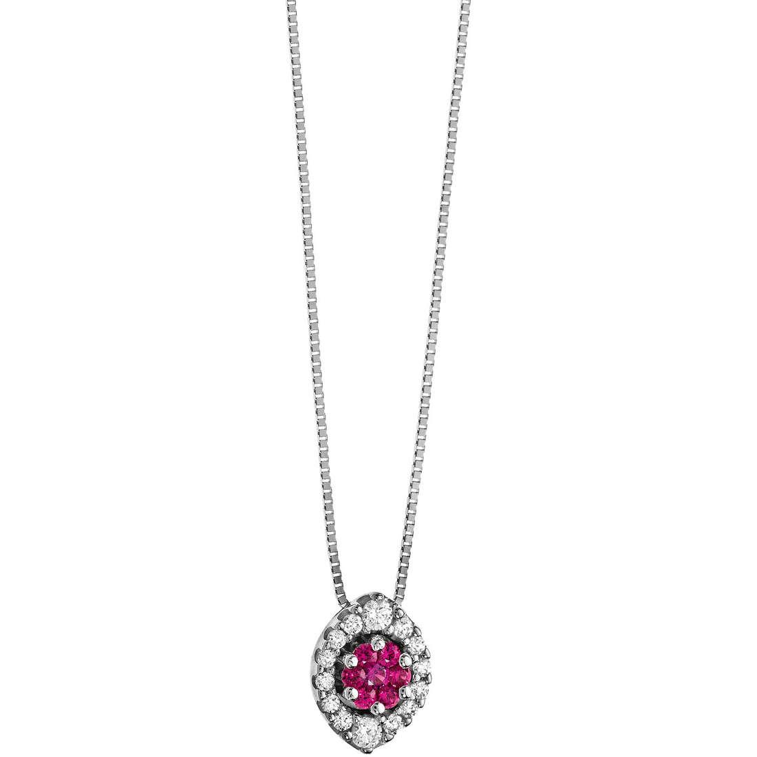 collana donna gioielli Comete Pietre preziose colorate GLB 808