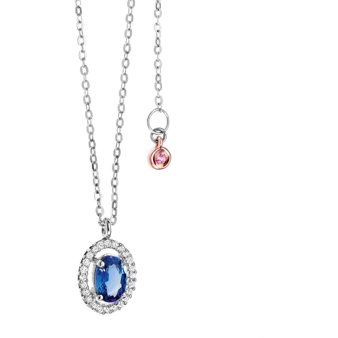 collana donna gioielli Comete Pietre preziose colorate GLB 824