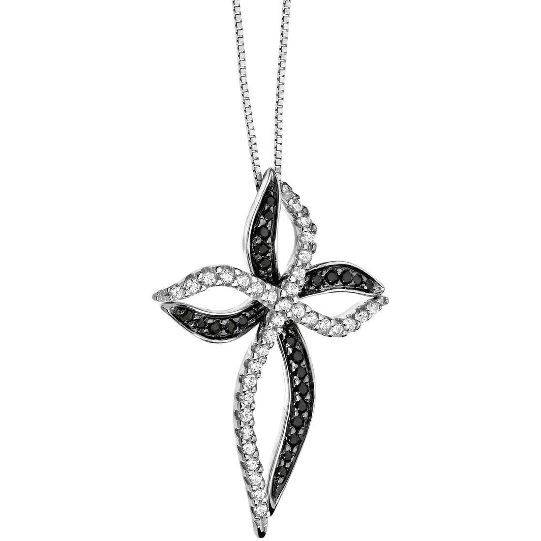 collana donna gioielli Comete Pietre preziose colorate GLB 833