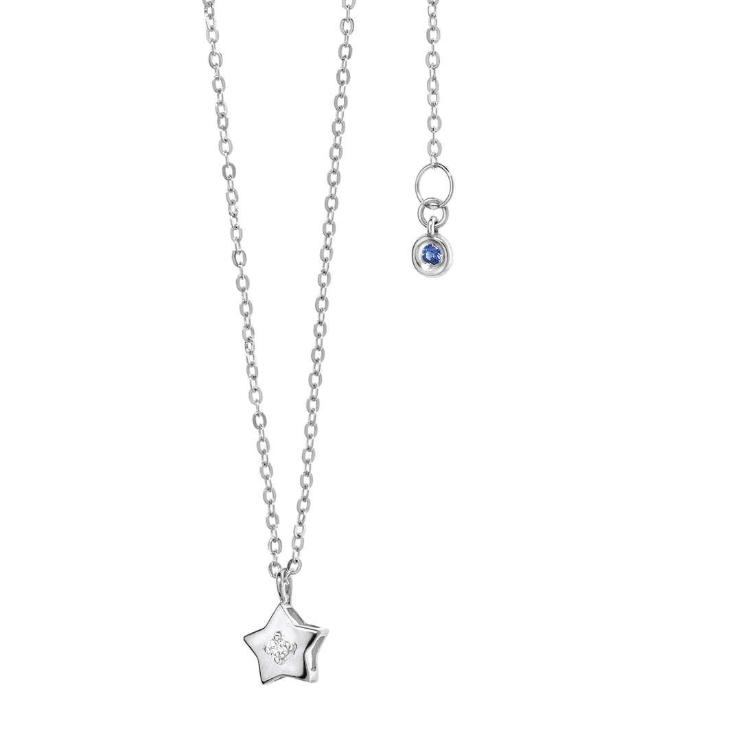 collana donna gioielli Comete Pietre preziose colorate GLB 887