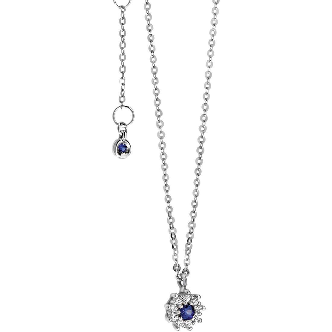 collana donna gioielli Comete Pietre preziose colorate GLB 893