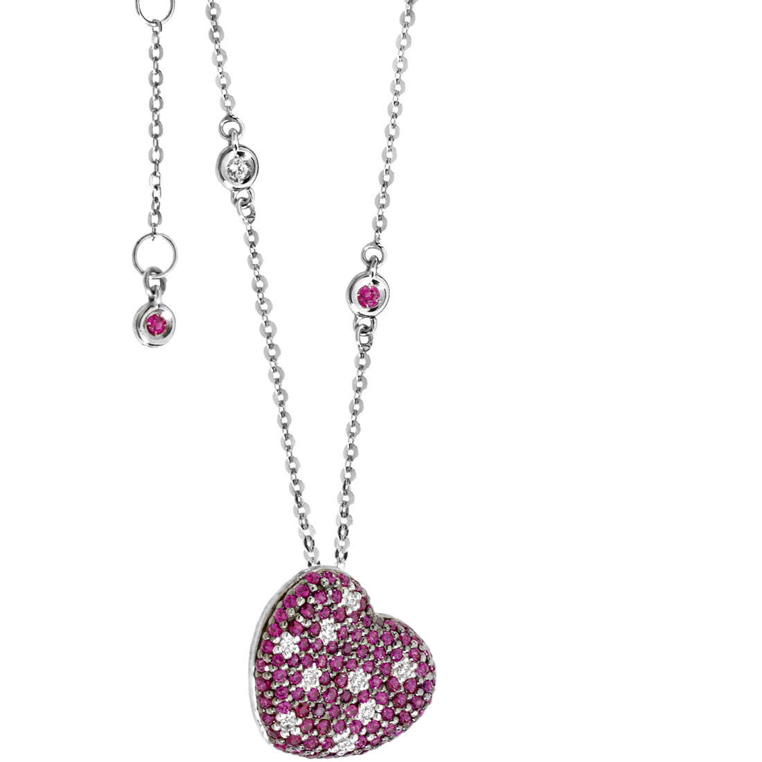collana donna gioielli Comete Pietre preziose colorate GLB 895