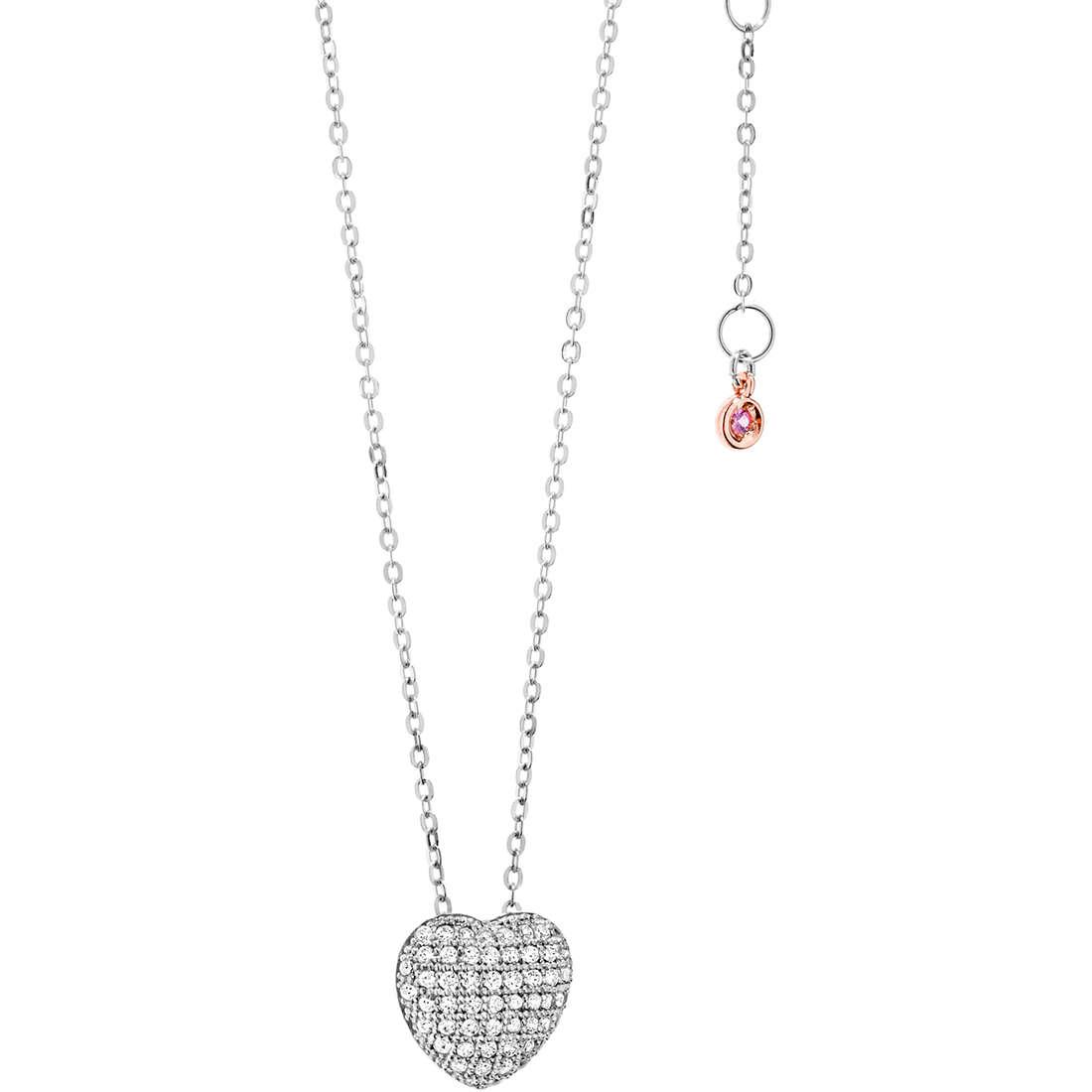 collana donna gioielli Comete Pietre preziose colorate GLB 913