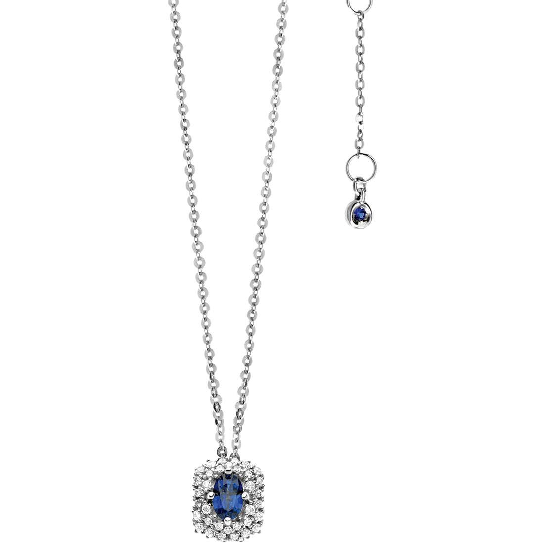 collana donna gioielli Comete Pietre preziose colorate GLB 918