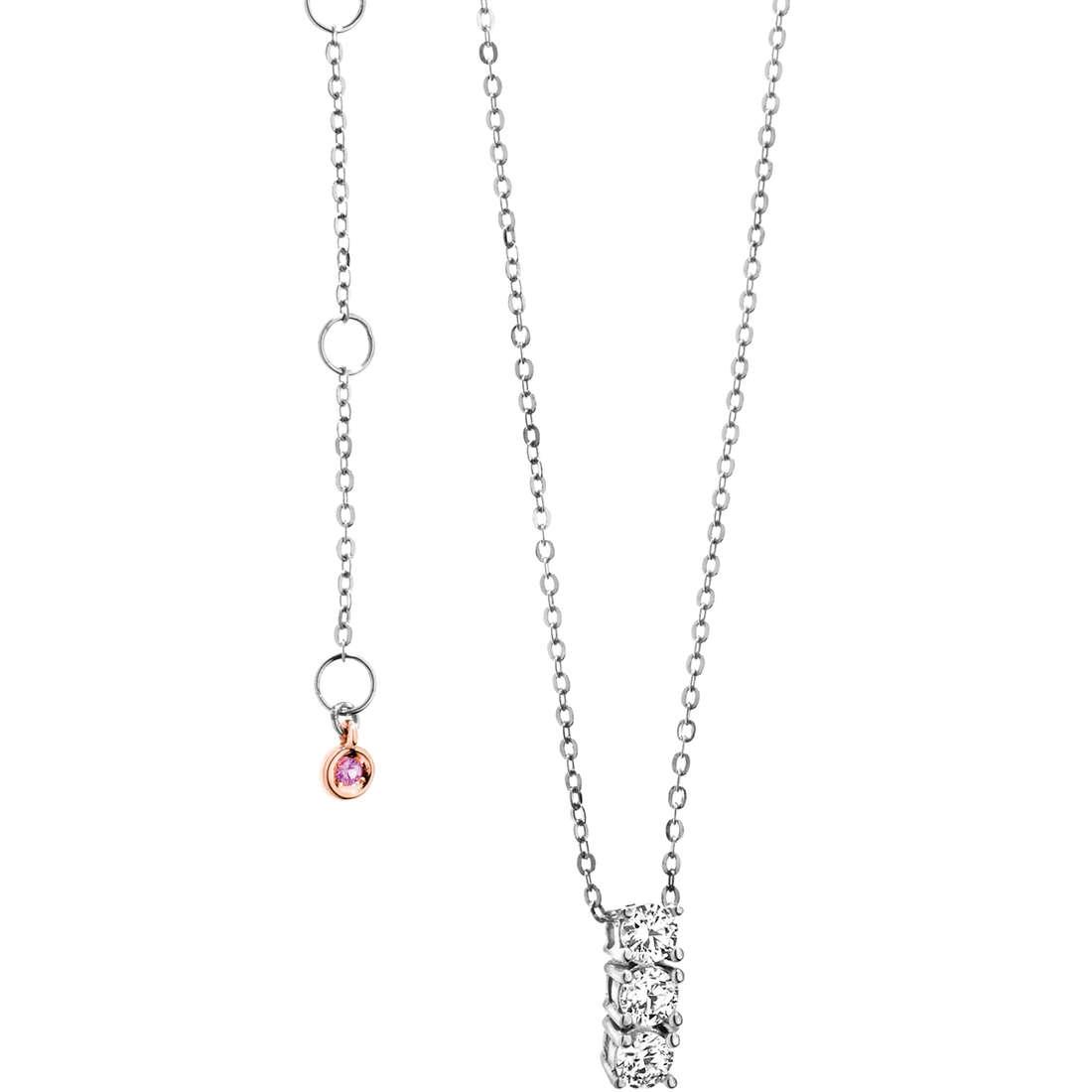 collana donna gioielli Comete Pietre preziose colorate GLB 921