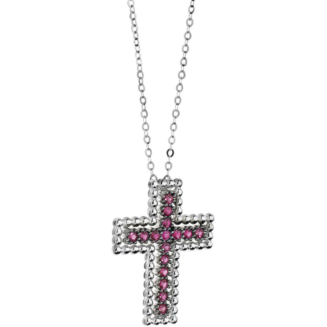 collana donna gioielli Comete Pietre preziose colorate GLB 943