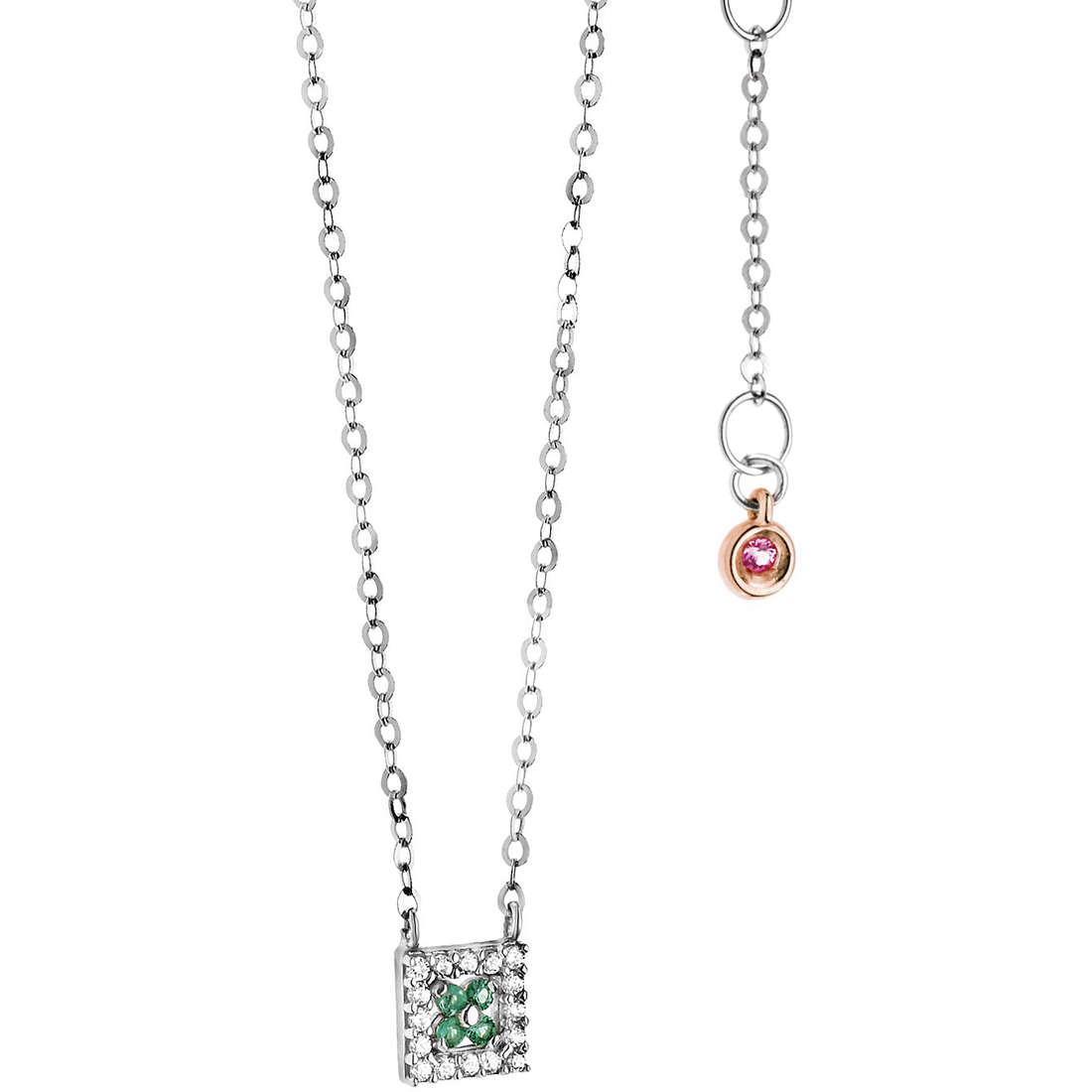 collana donna gioielli Comete Pietre preziose colorate GLB 963